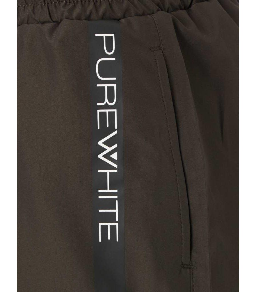 PUREWHITE SWIM SHORT DARK ARMY