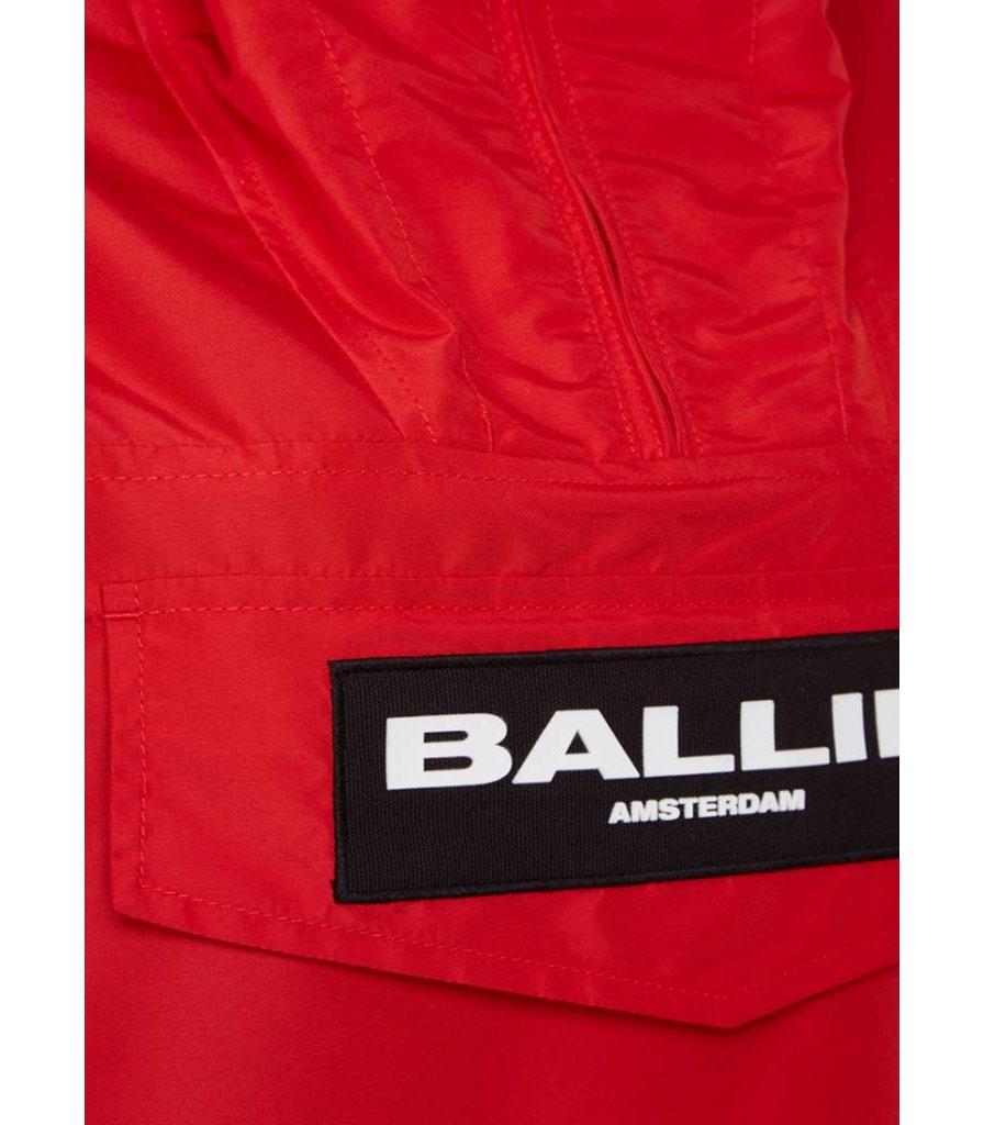 BALLIN AMSTERDAM ANORAK RED