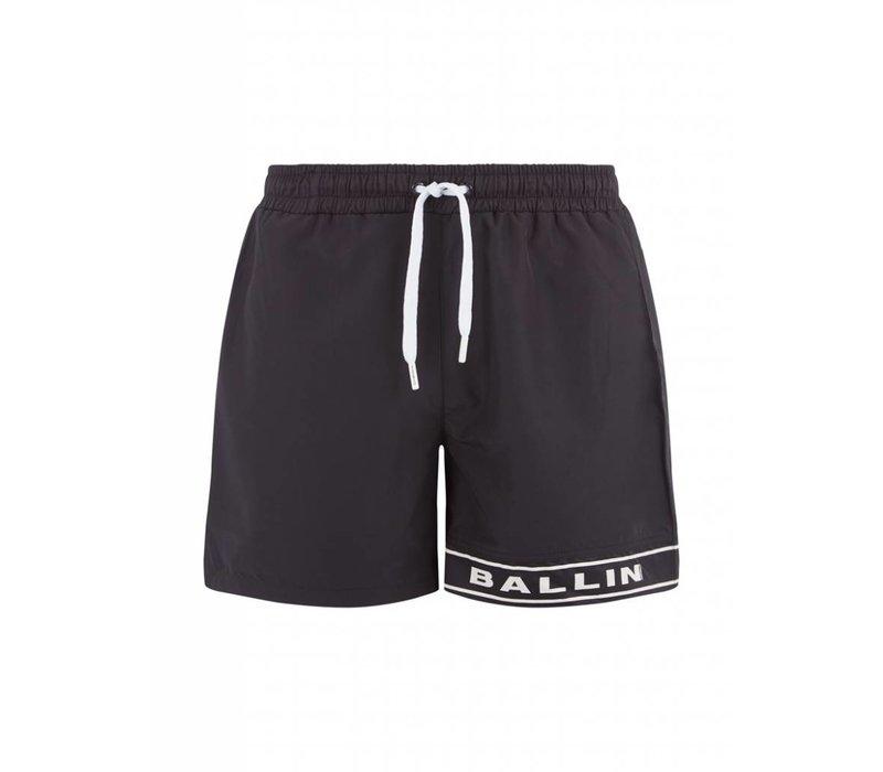 BALLIN AMSTERDAM SWIM SHORT BLACK
