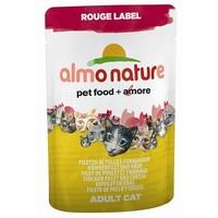 Almo nature cat rouge label kipfilet/kaas