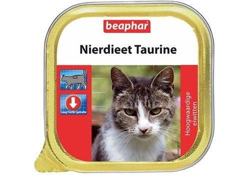 Beaphar 12x beaphar nierdieet kat taurine naturel