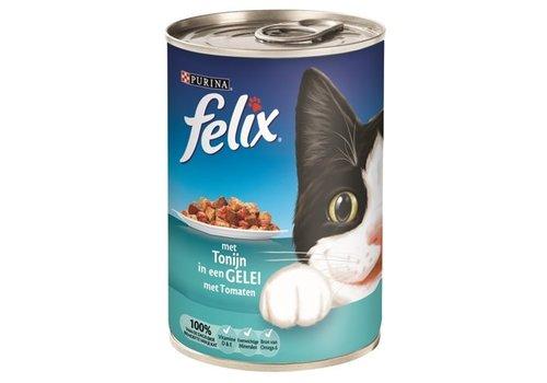 Felix 12x felix blik stukjes tonijn in gelei met tomaten