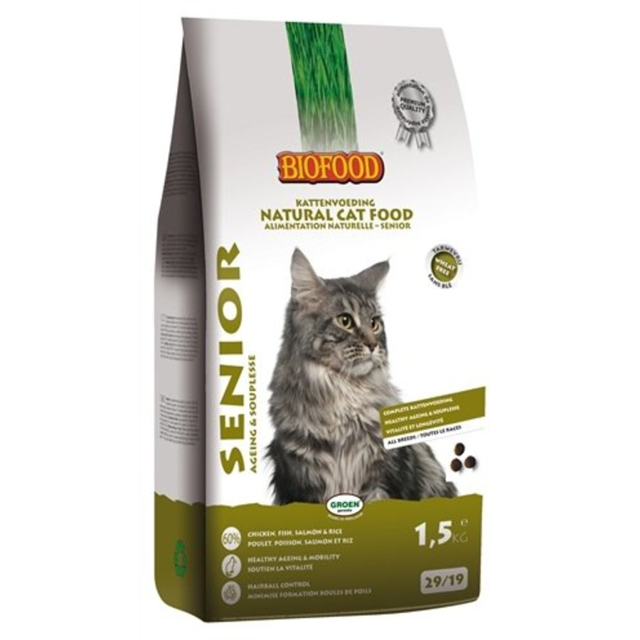 Biofood cat senior ageing & souplesse