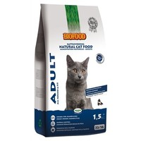 1,5 KG Biofood cat adult all-round & fit