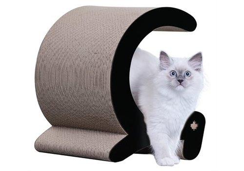 Canadiancat company Canadiancat company krabplank seashell zwart / wit