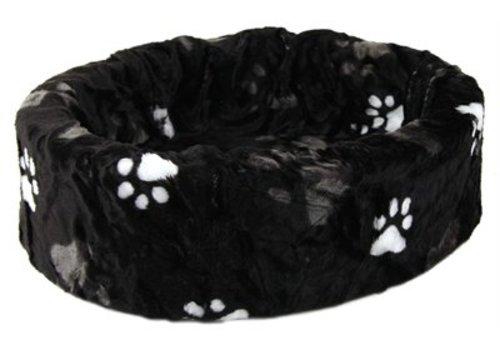 Petcomfort Petcomfort hondenmand bont zwart grote poot