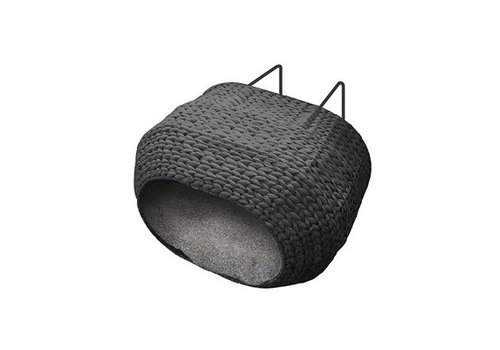 Ebi Ebi radiator kattenmand sunrise incl kussen zwart