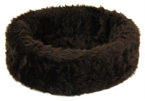 Petcomfort Petcomfort katten/hondenmand bont bruin