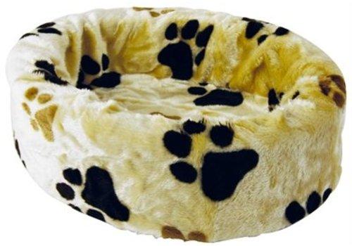 Petcomfort Petcomfort katten/hondenmand bont  beige grote poot