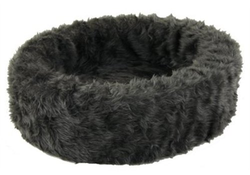 Petcomfort Petcomfort katten/hondenmand bont grijs