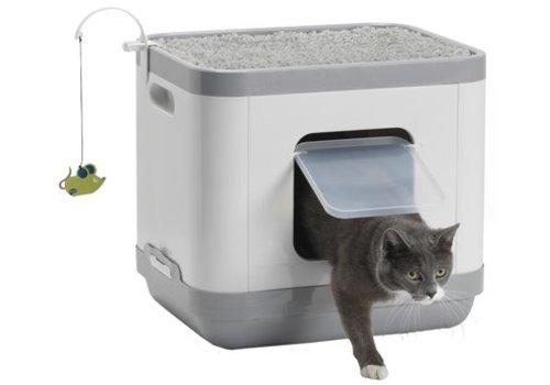 Moderna Moderna kattenbak / kattenmand catconcept grijs