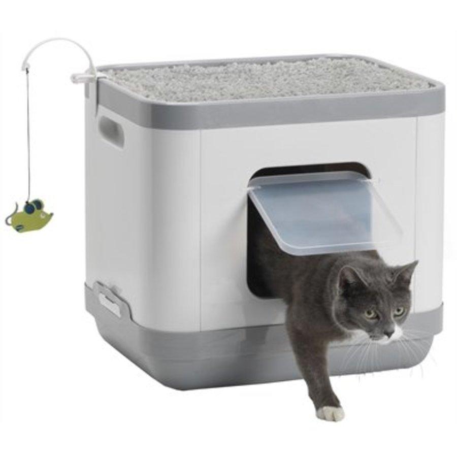 Moderna kattenbak / kattenmand catconcept grijs