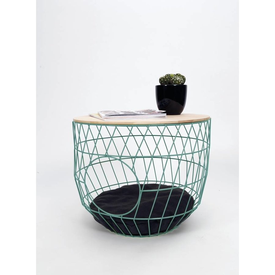 Kattenmand Wired Cat table  Mint