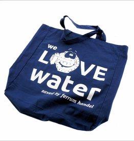 """Einkaufstasche """"We love water"""""""