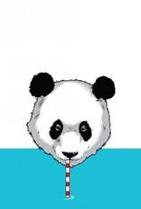 """Wasserflasche """"Durstiger Panda"""""""