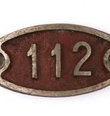 Gürtel mit Hydrantennummer-Schnalle 112
