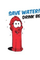"Bierbierglas ""Save water drink beer"""