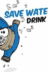 """Biertulpe """"Save water drink beer"""""""