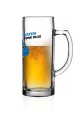 """Bierseidel """"Save water drink beer"""""""