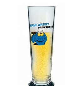 "Bierstange ""Save water drink beer"""