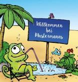"""Fußmatte """"Willkommen bei Mustermanns"""""""