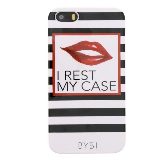 BYBI Smart Accessories I Rest My Case iPhone 5S/5