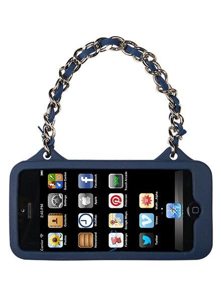 BYBI Smart Accessories Love Donker Blauw telefoontasje iPhone 5S/5