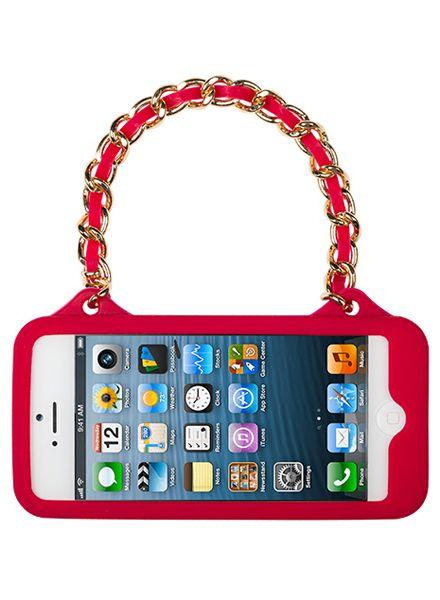 BYBI Smart Accessories Love Rood telefoontasje iPhone 4S/4