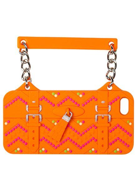 BYBI Smart Accessories Ibiza Oranje telefoontasje iPhone 5S/5