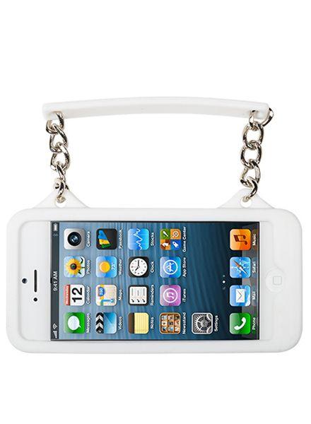 BYBI Smart Accessories Ibiza Zwart/Wit telefoontasje iPhone 4S/4