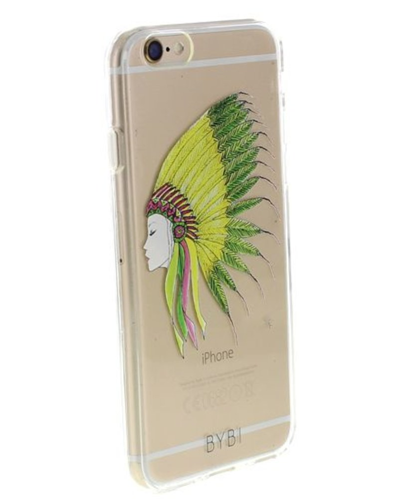 BYBI Lifestyle Fashion Brand Sioux telefoonhoesje iPhone SE
