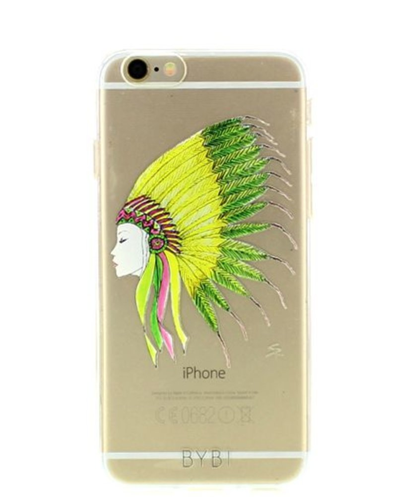 BYBI Lifestyle Fashion Brand Sioux telefoonhoesje iPhone 6S/6