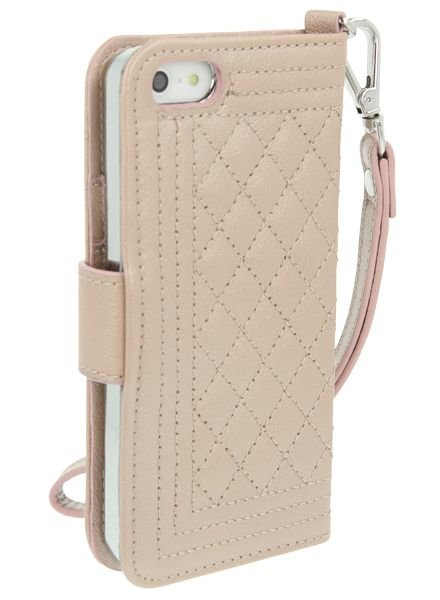 BYBI Lifestyle Fashion Brand Dazzling New York Case Rose Metallic iPhone 5S/5