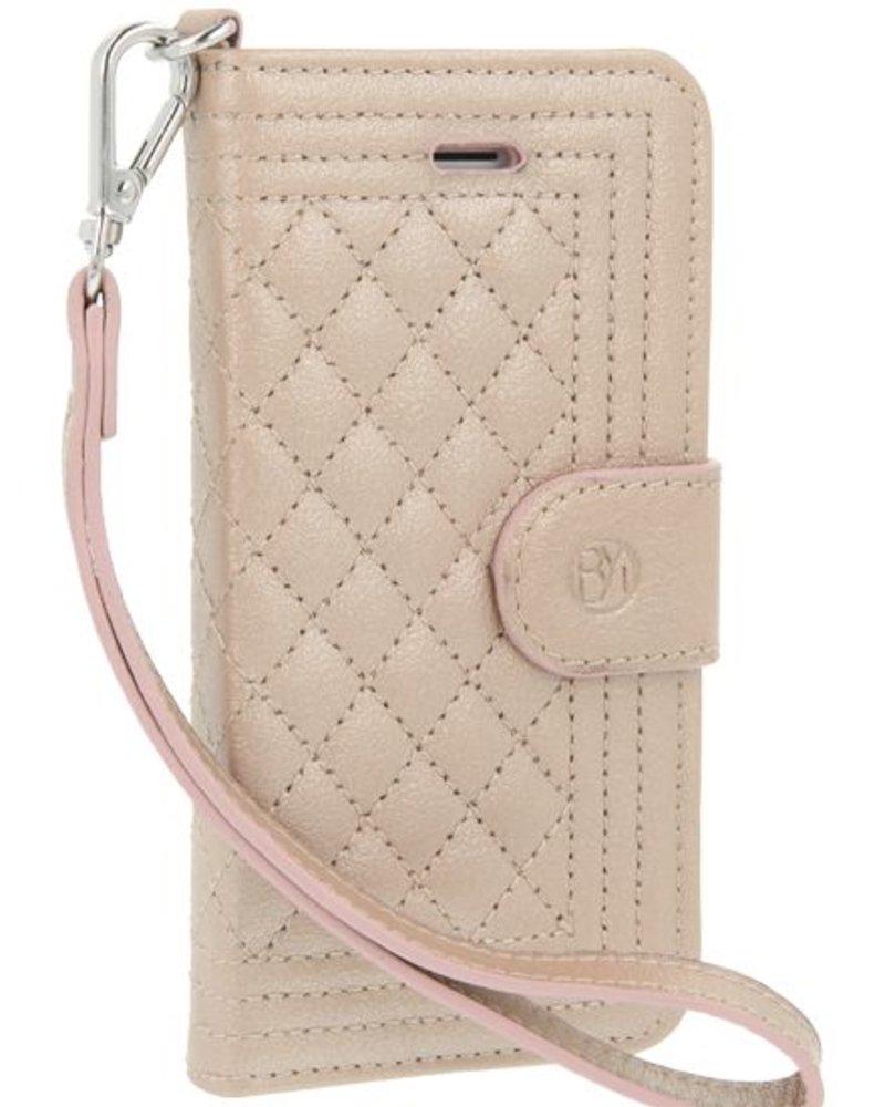 BYBI Lifestyle Fashion Brand Dazzling New York Case Rose Metallic iPhone 5S/5