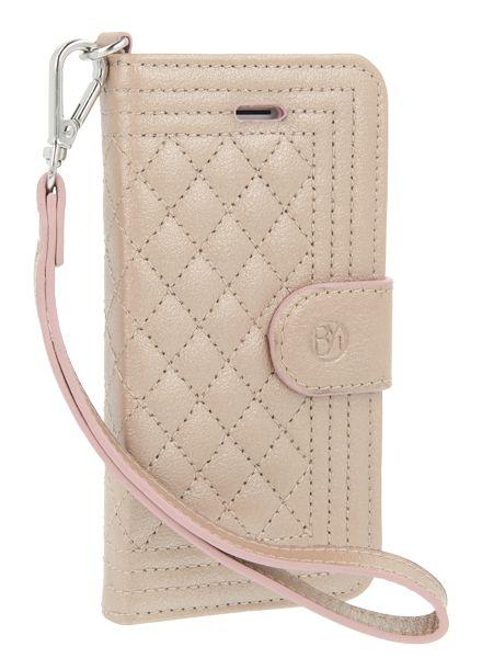 BYBI Smart Accessories Dazzling New York Case Rose Metallic iPhone 5S/5