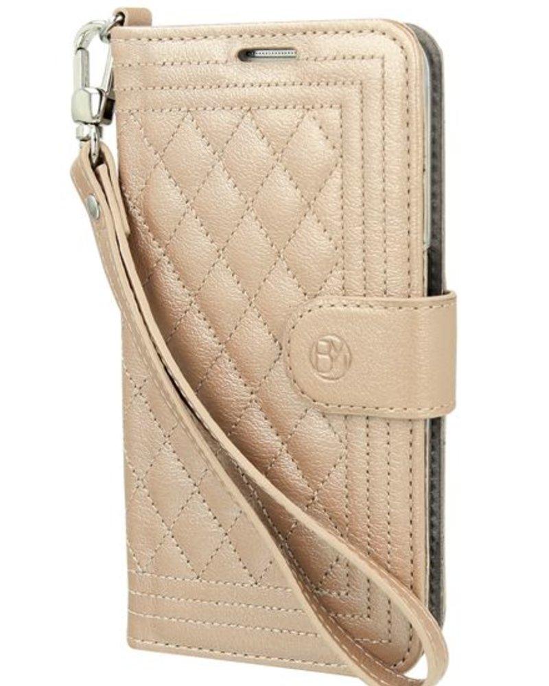 BYBI Lifestyle Fashion Brand Dazzling New York Case Rose Metallic Samsung Galaxy S6