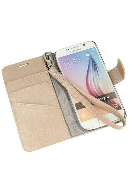 BYBI Smart Accessories Dazzling New York Case Rose Metallic Samsung Galaxy S6