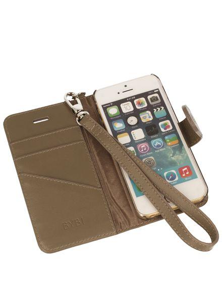 BYBI Smart Accessories Inspiring London Case Khaki iPhone SE
