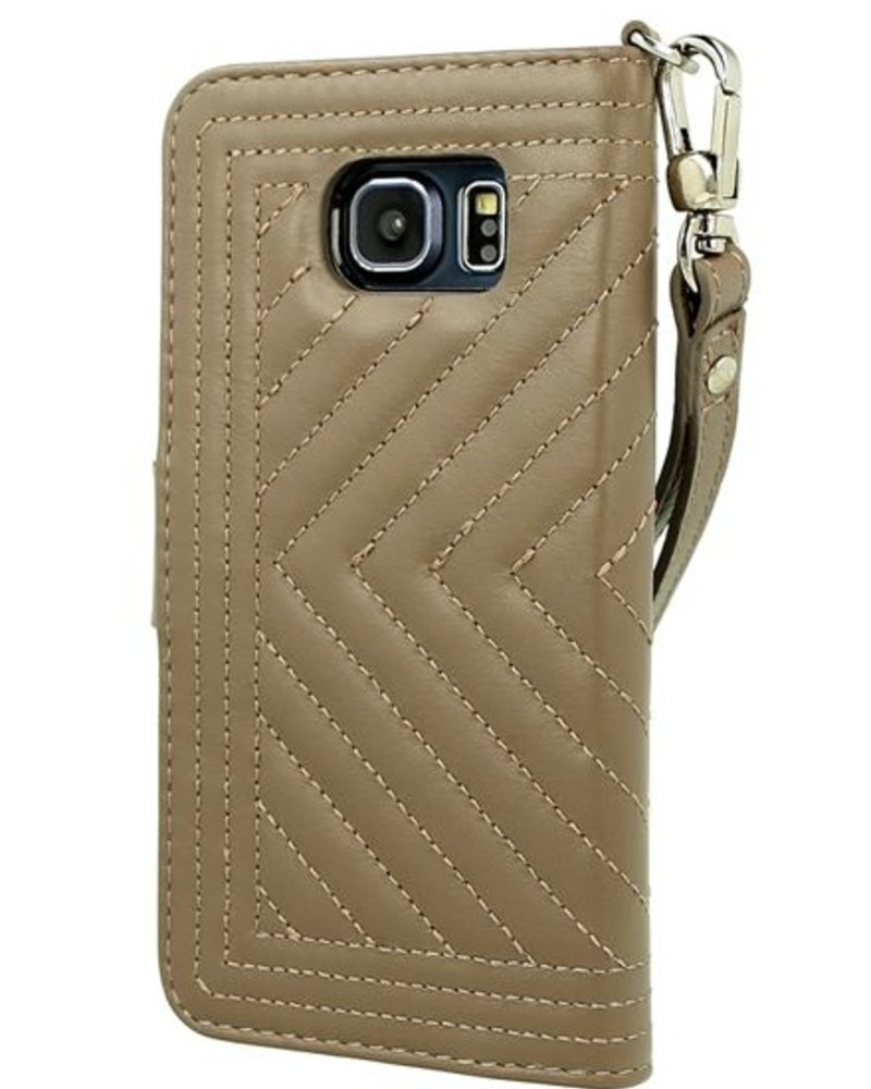 BYBI Lifestyle Fashion Brand Inspiring London Case Khaki Samsung Galaxy S6