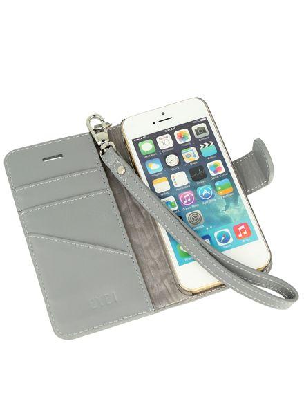 BYBI Smart Accessories Inspiring London Hoesje Grijs iPhone SE