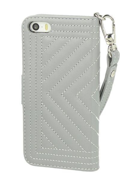 BYBI Smart Accessories Inspiring London Hoesje Grijs iPhone 5S/5