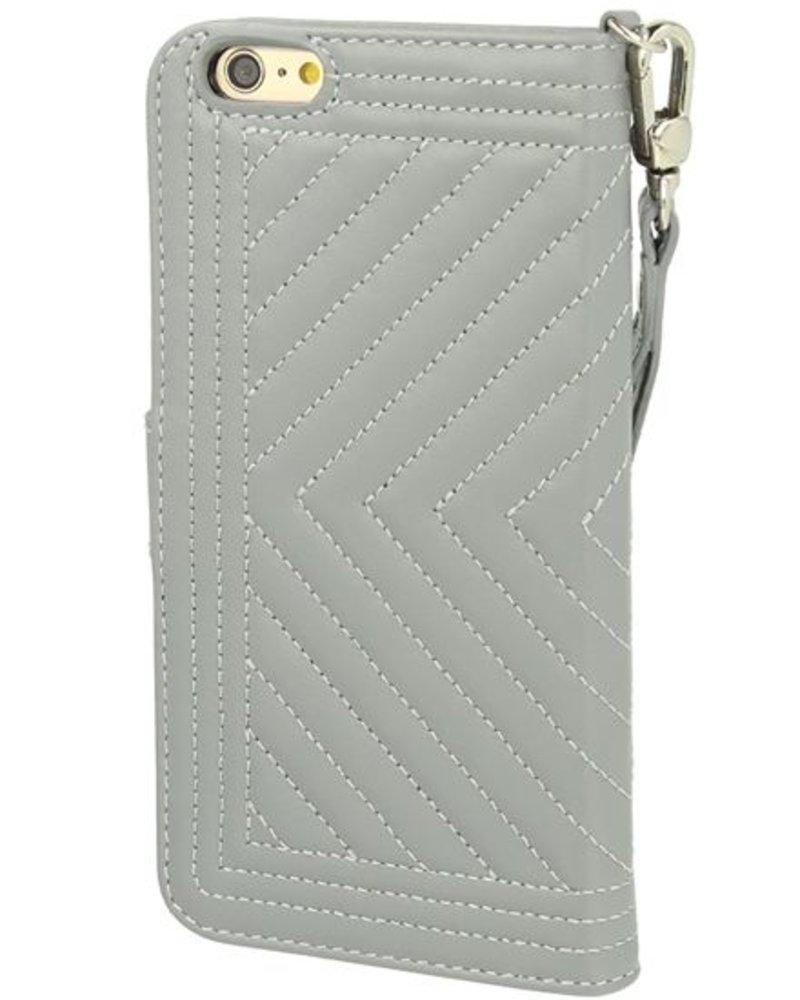 BYBI Lifestyle Fashion Brand Inspiring London Hoesje Grijs iPhone 6S/6 Plus