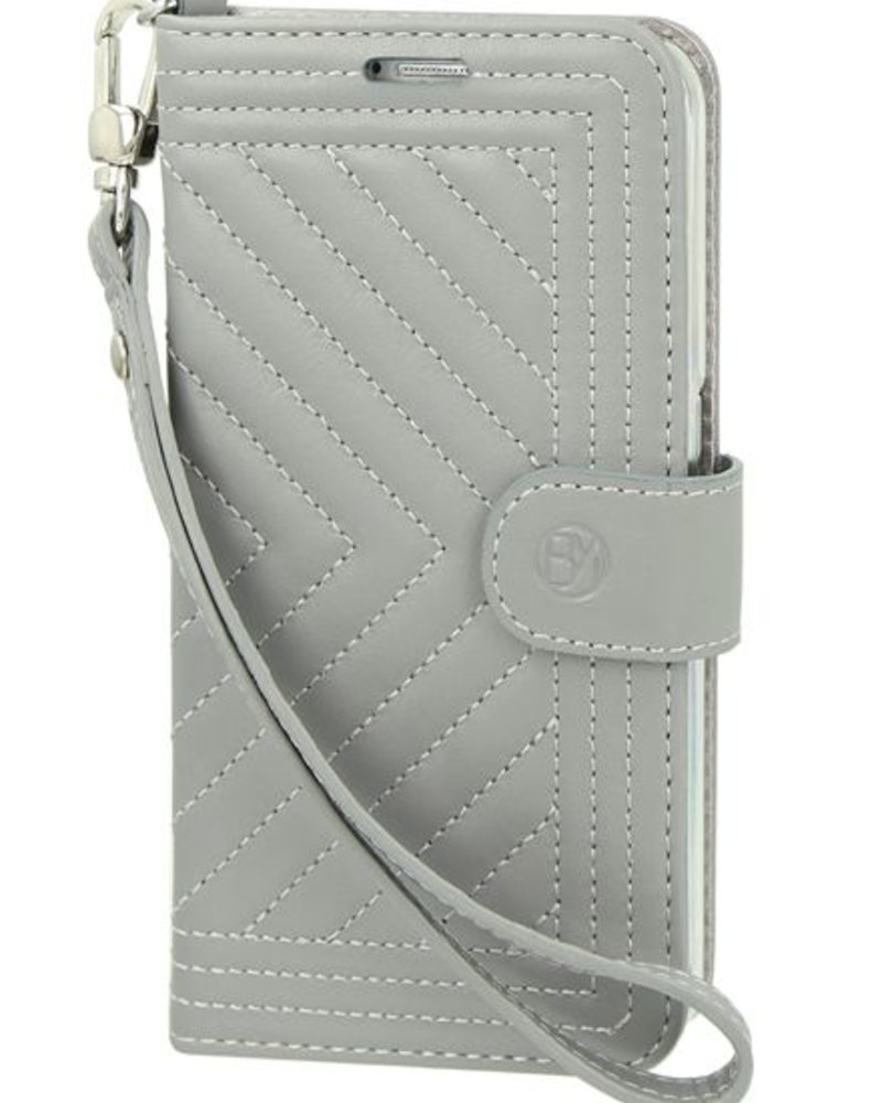 BYBI Lifestyle Fashion Brand Inspiring London Hoesje Grijs Samsung Galaxy S6