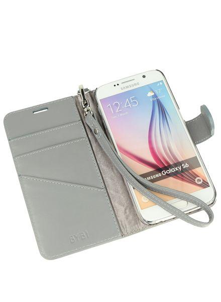 BYBI Smart Accessories Inspiring London Hoesje Grijs Samsung Galaxy S6