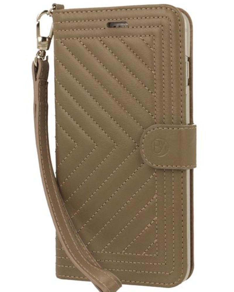 BYBI Lifestyle Fashion Brand Inspiring London Hoesje Khaki iPhone 7 Plus