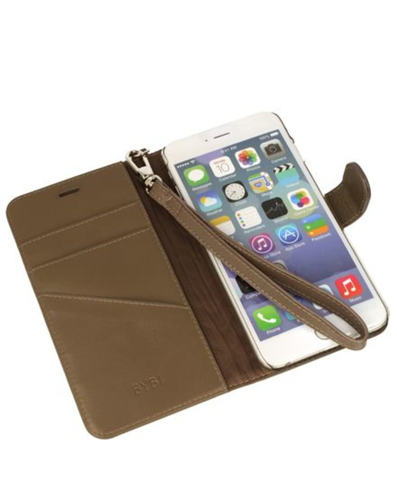 BYBI Lifestyle Fashion Brand Inspiring London Hoesje Khaki iPhone 7 Plus
