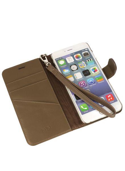 BYBI Smart Accessories Inspiring London Hoesje Khaki iPhone 7 Plus