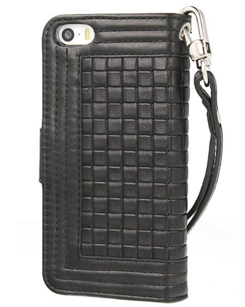 BYBI Lifestyle Fashion Brand Memorable Milano Zwart iPhone 5S/5
