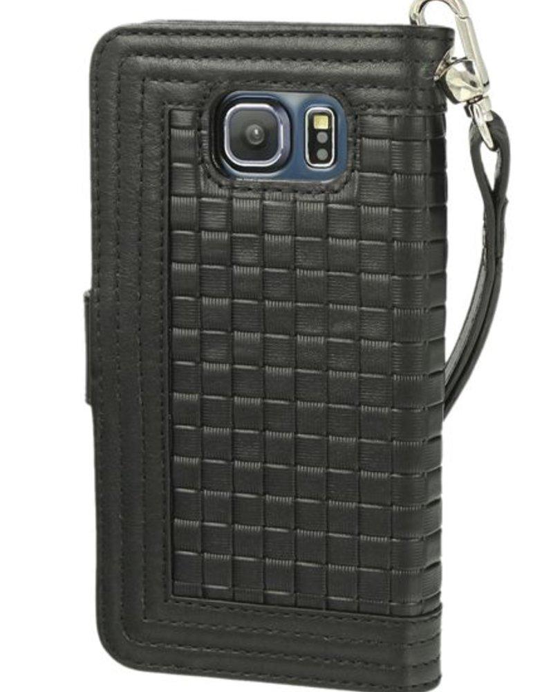 BYBI Lifestyle Fashion Brand Memorable Milano Zwart Samsung Galaxy S6