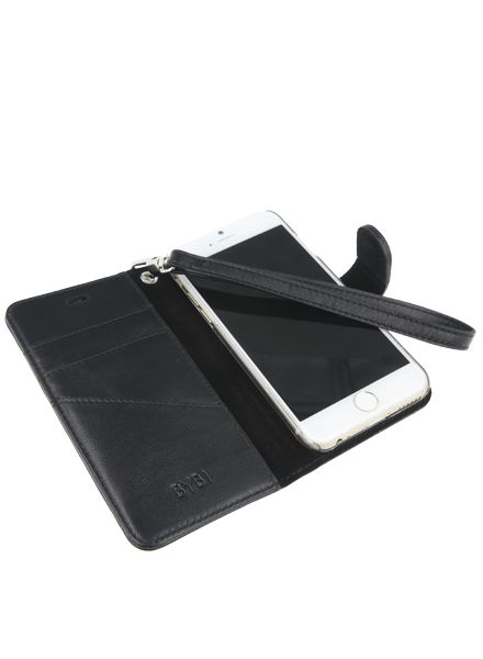 BYBI Smart Accessories Memorable Milano Hoesje Zwart iPhone 6S/6